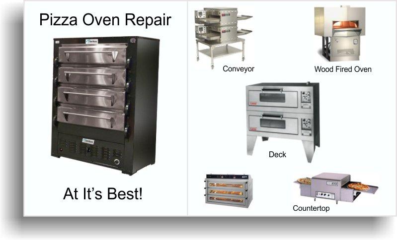 Pizza Oven Repair - commercial kitchen repair