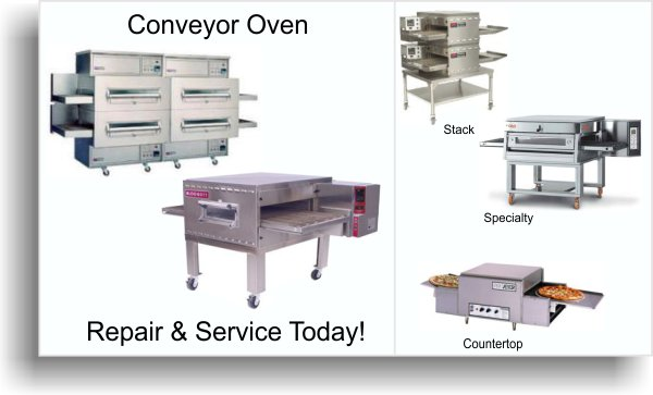 Conveyor oven repair service